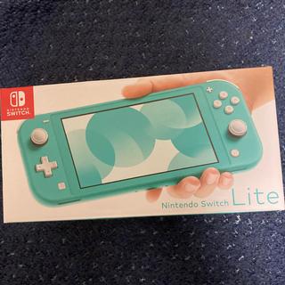 ニンテンドースイッチ(Nintendo Switch)のNintendo Switch Lite ターコイズ 任天堂スイッチライト本体 (携帯用ゲーム機本体)