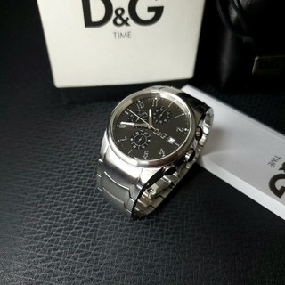 DOLCE&GABBANA - 美品 ドルガバ 「サンドパイパー」 メンズ腕時計 D&G