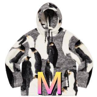 シュプリーム(Supreme)のPenguins Hooded Fleece Jacket ペンギン ジャケット(ブルゾン)