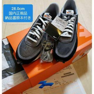 28cm Sacai Nike LDWaffle Black(スニーカー)