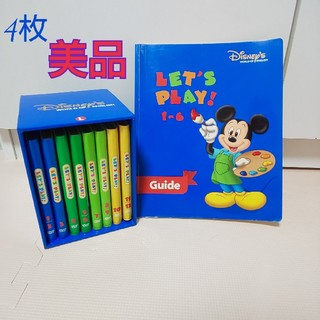 Disney - ディズニー 英語システム DWE レッツプレイ DVD