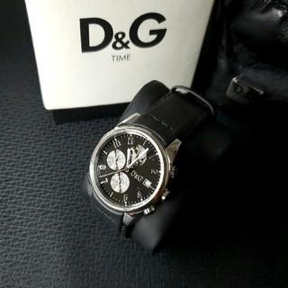 DOLCE&GABBANA - 良品 ドルガバ 「サンドパイパー」 メンズ腕時計 D&G