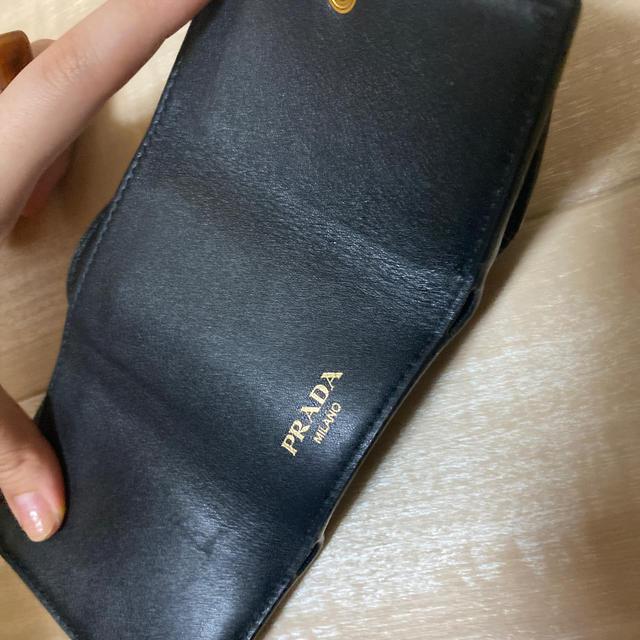 PRADA(プラダ)の【yu♡様専用】PRADA 折り財布 レディースのファッション小物(財布)の商品写真
