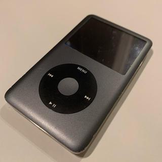 アップル(Apple)のiPod classic BLACK 80gb(ポータブルプレーヤー)