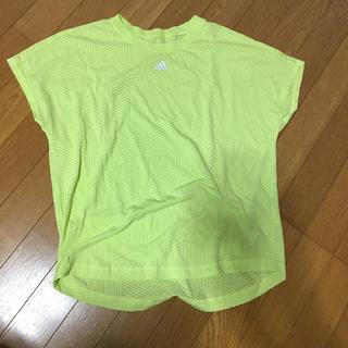 adidas - アディダス adidas Tシャツ 蛍光黄色