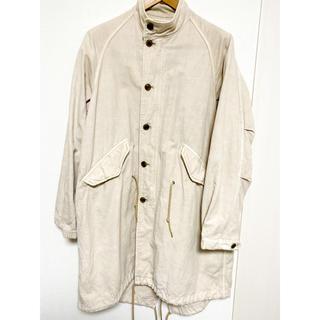 ネストローブ(nest Robe)のNest Robe Confect モッズコート 生成り Lサイズ(モッズコート)