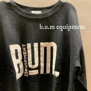 アメリヴィンテージ(Ameri VINTAGE)のbum equipment  スウェット USA古着(スウェット)