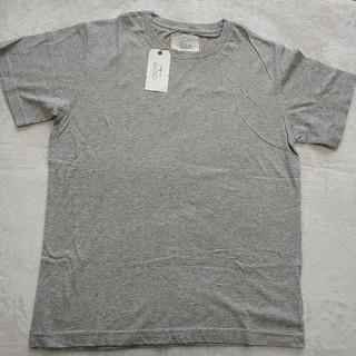 アングリッド(Ungrid)の【新品】 ungrid 半袖Tシャツ グレー フリーサイズ(Tシャツ(半袖/袖なし))
