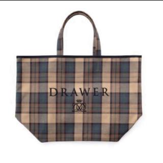Drawer - 新品未使用 20AW DRAWER ドゥロワー ノベルティ トートバック