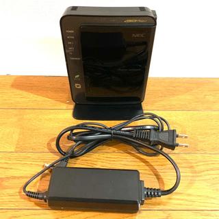 エヌイーシー(NEC)のNEC 無線LANルーター WR9500N(PC周辺機器)