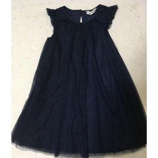エイチアンドエム(H&M)の140サイズ H&M ラメ ワンピース ボレロ 発表会 パーティ(ドレス/フォーマル)