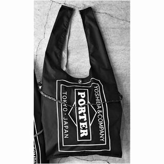 ポーター(PORTER)の☆完売☆PORTER GROCERY BAG GMS ブラック エコバック(エコバッグ)