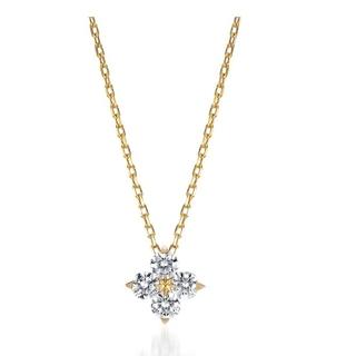 スタージュエリー(STAR JEWELRY)のStar Jewelry スタージュエリー K18YG ダイヤモンドネックレス(ネックレス)