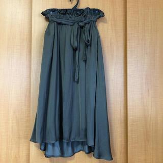 chocol raffine robe - ロングスカート