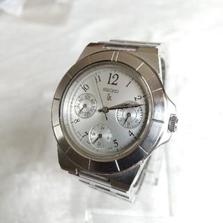 セイコー(SEIKO)のセイコールキア腕時計 クロノデザイン レディース(腕時計)