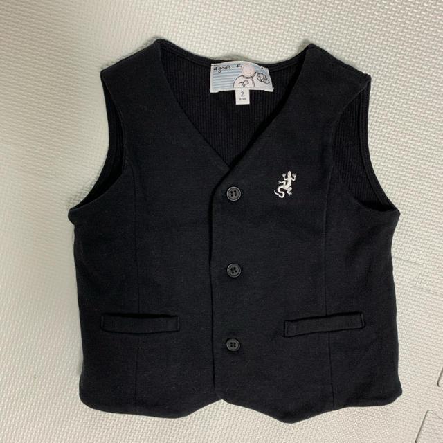 agnes b.(アニエスベー)のアニエスベーベスト キッズ/ベビー/マタニティのキッズ服男の子用(90cm~)(ドレス/フォーマル)の商品写真