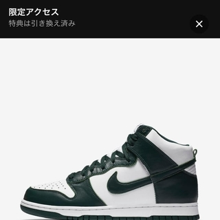 NIKE - 27.5cm NIKE ダンクHigh Spartan Green