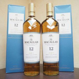 サントリー - The Macallan(マッカラン)12年トリプルカスク・フルボトル2本セット