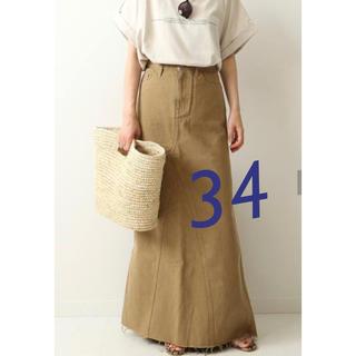 プラージュ(Plage)のPlage 【Healthy denim】LONG SLIT スカート34(ロングスカート)