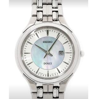 セイコー(SEIKO)の男女兼用!SEIKO DOLCEセイコードルチェ 腕時計 ソーラー電波(腕時計)