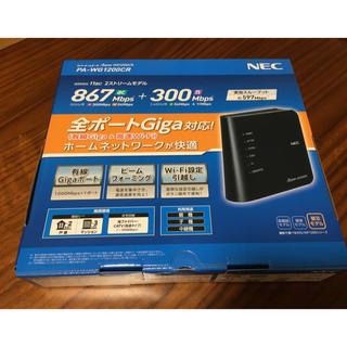 エヌイーシー(NEC)のWi-FiルーターNEC PA-WG1200CR Aterm(PC周辺機器)