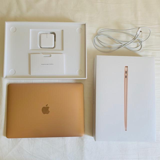 Mac (Apple)(マック)のMacBook Air 13インチ 2020 美品 ゴールド Apple スマホ/家電/カメラのPC/タブレット(ノートPC)の商品写真