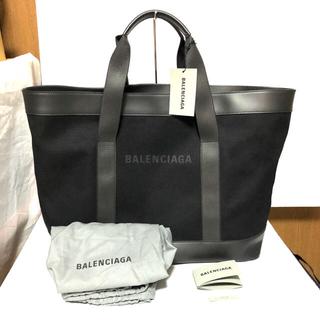 バレンシアガ(Balenciaga)のBALENCIAGA バレンシアガ NAVY TOTE トートバッグ(トートバッグ)