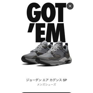 NIKE - Nike Fragment Jordan AIR CADENCE SP 27cm