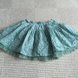 ジーユー(GU)の子供服(スカート)