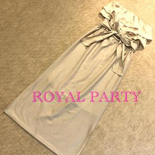 ロイヤルパーティー(ROYAL PARTY)の◆ROYAL PARTY◆ マキシワンピース(ロングワンピース/マキシワンピース)