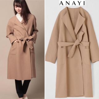 ANAYI - アナイ ANAYI  未使用タグ付き 38  コート
