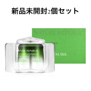NATURE REPUBLIC - 【新品未開封】2個セット ジンセンロイヤルシルクアイクリーム