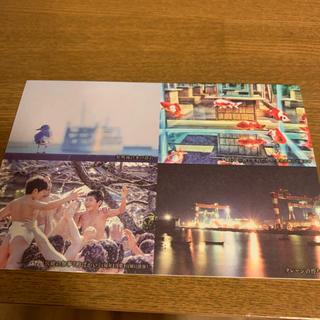 熊本県長洲町 ポストカード(使用済み切手/官製はがき)