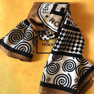 FENDI - 美品 フェンディ シルク スカーフ     SALE ❗️modern girl