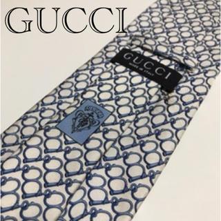 Gucci - グッチシルクネクタイ リング柄