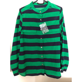 グリーンレーベルリラクシング(green label relaxing)のグリーンレーベルリラクシング 新品 シャツ(シャツ/ブラウス(長袖/七分))