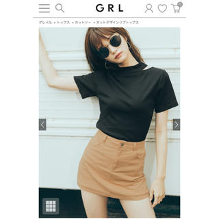 GRL - GRL カットトップス2点セット