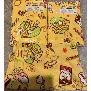 サンリオ(サンリオ)のポムポムプリン   子供用 寝具カバー セット(シーツ/カバー)