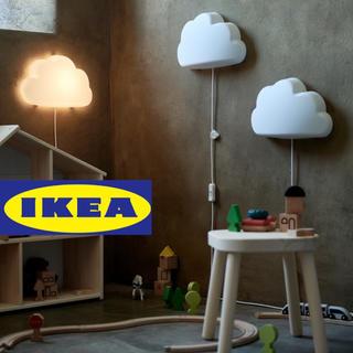 イケア(IKEA)の【新品】IKEA イケア 雲 LEDウォールランプ(その他)
