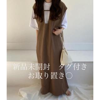 カスタネ(Kastane)のlawgy  original 2way long vest(ロングスカート)