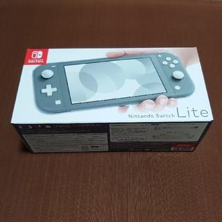 Nintendo Switch Liteグレー(家庭用ゲーム機本体)