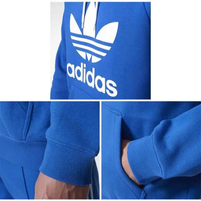 adidas(アディダス)の新品 adidas originals パーカー スウェット フリース 起毛素材 メンズのトップス(パーカー)の商品写真