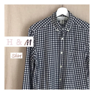 エイチアンドエム(H&M)の【古着】ギンガムチェックシャツ【H&M】(シャツ)