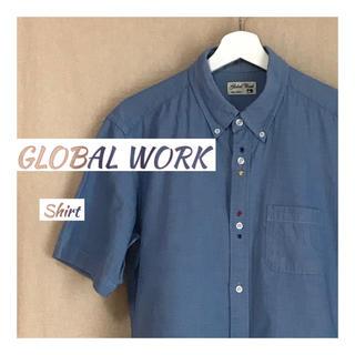 グローバルワーク(GLOBAL WORK)の【古着】半袖シャンブレーシャツ【GLOBAL WORK】(シャツ)