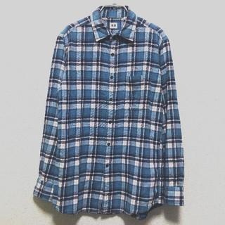 ユニクロ ネルシャツ