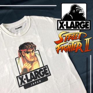 エクストララージ(XLARGE)の【美品】xlarge street  fighter tシャツ(Tシャツ/カットソー(半袖/袖なし))
