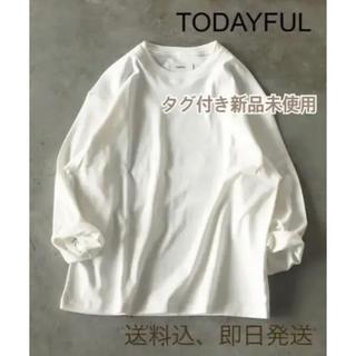 トゥデイフル(TODAYFUL)のTODAYFUL トゥデイフル  キャナルジーン ロンT トップス ホワイト(Tシャツ(長袖/七分))