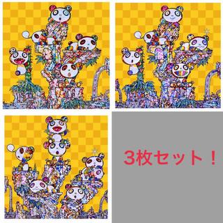 村上隆 パンダ3種類ポスター(ポスター)