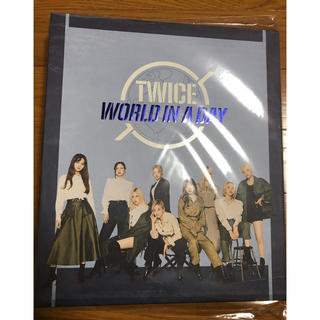 Waste(twice) - TWICE  World in a Day  フォトバインダーブック