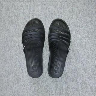 crocs - クロックス サンダル crocs RHINDA WEDGE